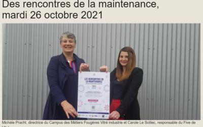 [Campus] Les rencontres de la maintenance – 26 octobre 2021